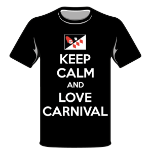 MAGLIETTA KEEP KALM AND LOVE CARNIVAL