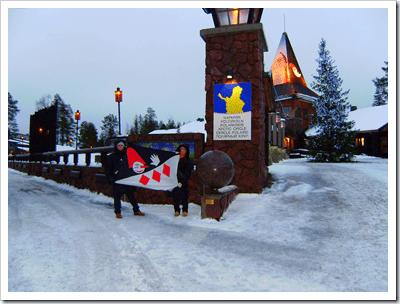La Burlamacca a Rovaniemi, Lapponia