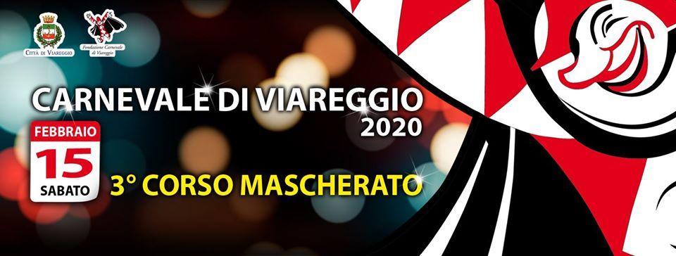 Calendario Carnevale Viareggio 2020.Carnevale Di Viareggio 2020 3 Corso Mascherato
